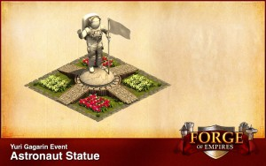 Astronaut Statue