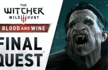 "The Witcher 3: Wild Hunt – Blood and Wine: Trailer ""Final Quest"""