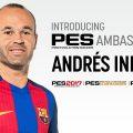 Andrés Iniesta è ambasciatore ufficiale di PES