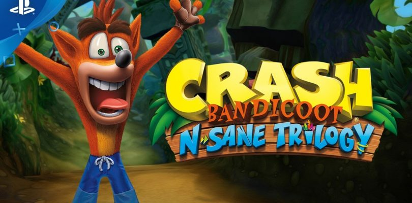 Crash Bandicoot N. Sane Trilogy disponibile da oggi